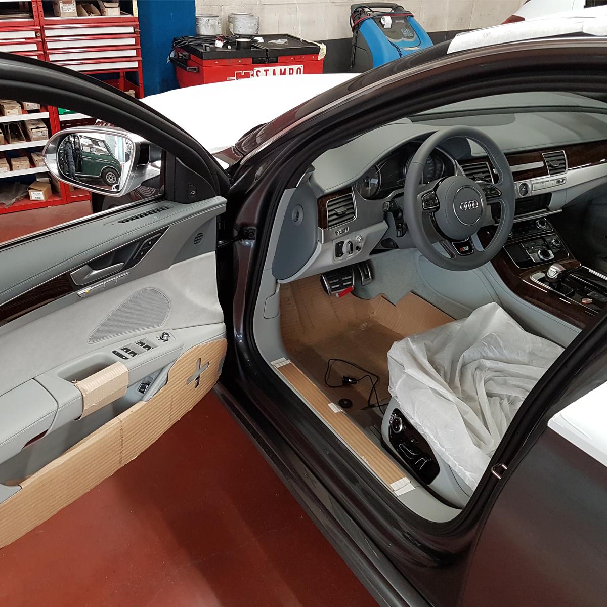 installation système alarme auto