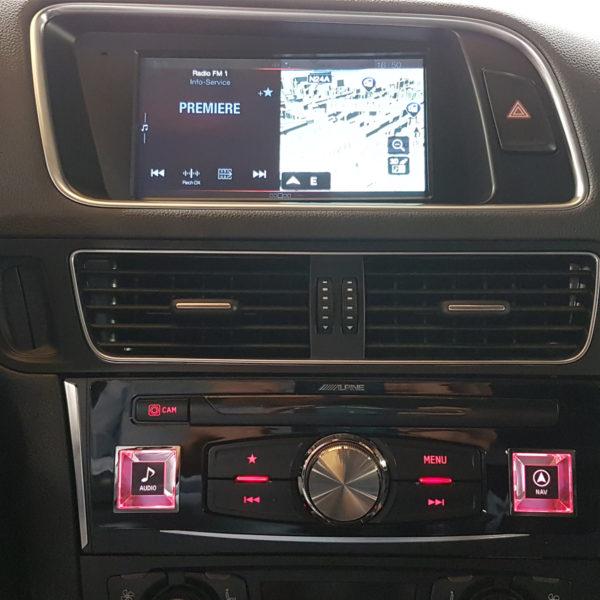 Navigation auto et autoradio