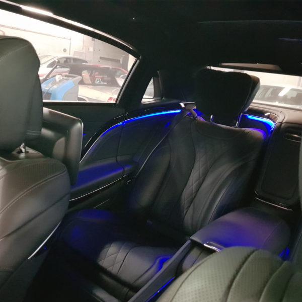éclairage habitacle auto